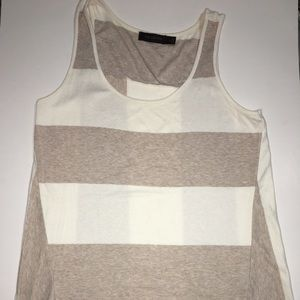 The Limited Sleeveless striped blouse tank